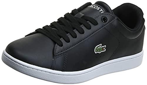 Lacoste Carnaby EVO BL 1 SPW, Zapatillas Mujer, Negro (Black), 40 EU