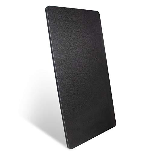 DCHOUSE Tischplatte, Schreibtischplatte in Schwarz mit Hoher Kratzfestigkeit und DIY...