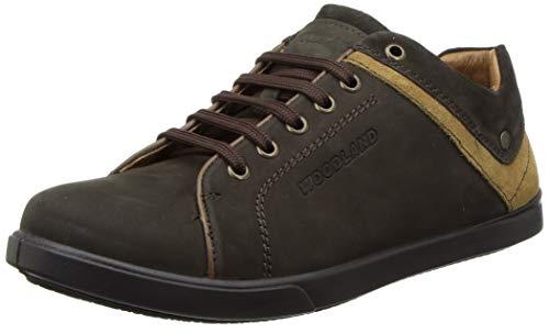 Woodland Men's 3306119 Russia Leather Sneaker-8 UK (42 EU) (OGC 3306119RUSSIA DBROWN)