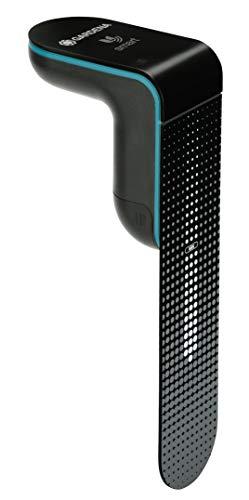 GARDENA smart Sensor: Misst Bodenfeuchte und Bodentemperatur, Einbeziehung der Daten in die Bewässerungssteuerung per smart App, flache Bauart für Einsatz auf der Rasenfläche (19040-20)