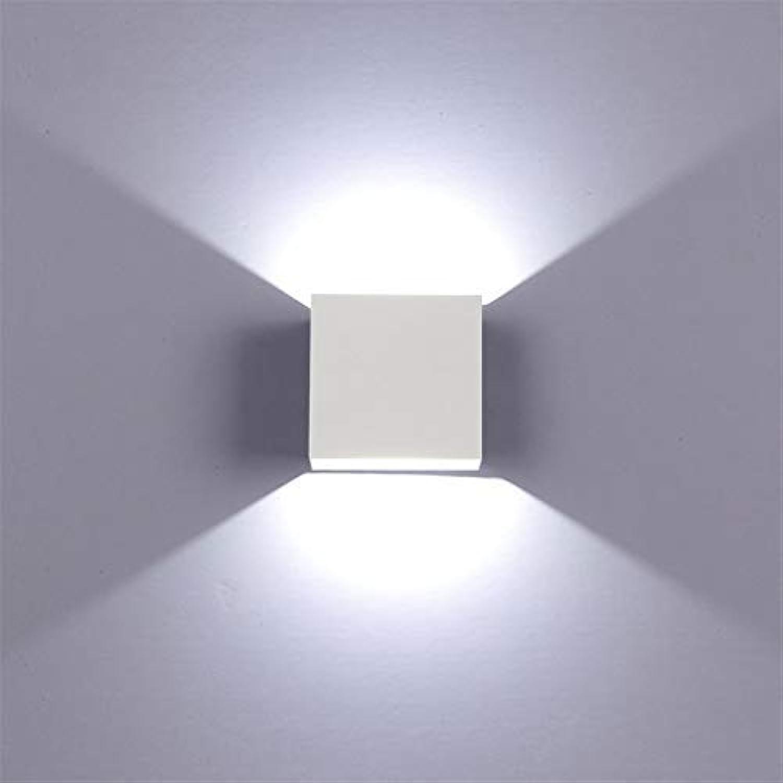 YLCJ 12W Indoor LED Wandleuchte mit Up \\ u0026 Down Lichteffekt Silber Krper Moderner Entwurf 12W Kaltes Wei; 6000K Wandbeleuchtung für Wohnzimmerschlafzimmer