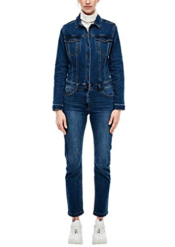 s.Oliver Damen 120.10.003.26.201.2037719 Overall, Blue, 42