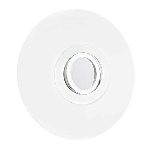 LED Einbaustrahler für große Lochausschnitte 68-180mm Aluminium Spot Einbauleuchte schwenkbar Weiß DSK2 GU10-230V Inkl. LED warmweiß