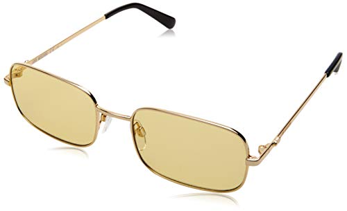 Love Moschino MOL012/S Gafas de sol, Amarillo (Yellow), 53.0 para Mujer