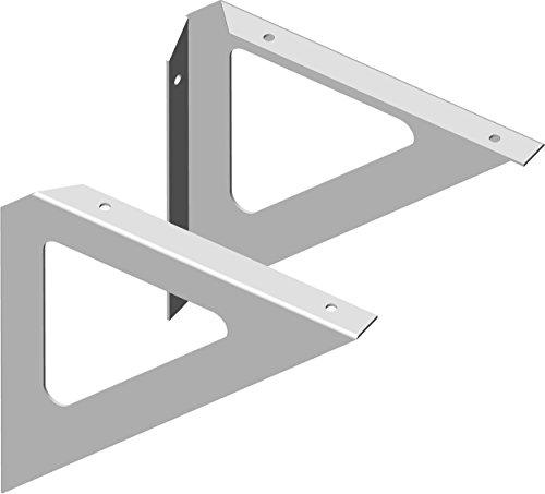 Element System 18133-00203 Triangel / Regalträger / 3 Farben / 2 Stück / weiß