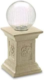 Smart Solar 3558MRM1 Solar Gazing Ball with Tuscan Pedestal