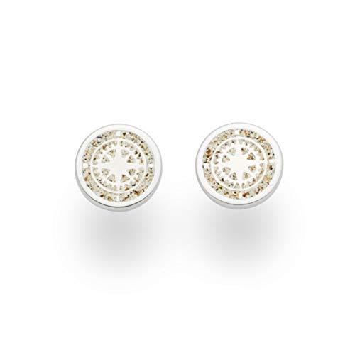 """DUR Damen Ohrring\""""Kompass\"""" aus 925er Silber O5039"""