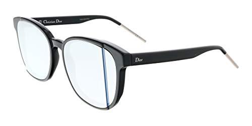 Dior Damen DIORSTEP R8 807 Sonnenbrille, Schwarz (Black/Grey Extrwht Marl), one Size