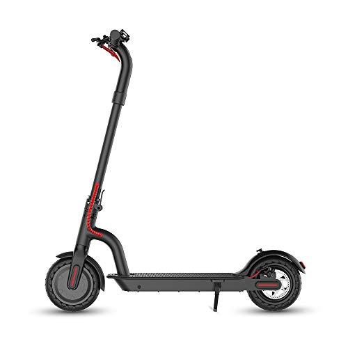 HYPER GOGO Patinete Eléctrico, Scooter electrico Adulto y niño,Velocidad de hasta 28 km/h con Sistema de Doble frenado para para Viajar y Trabajar