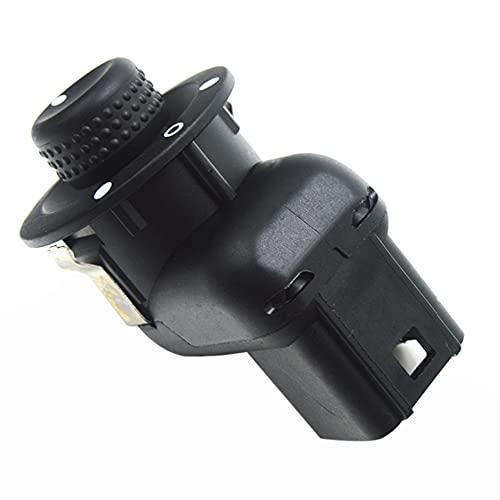 Funien Interruptor de control de espejo,Reemplazo del botón del interruptor de control del espejo para Renault Laguna Clio MK3 3 2 sc é nic Megane 2 Kangoo 2007-2017