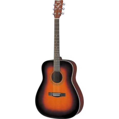 Yamaha F370 Chitarra Folk, Chitarra Acustica 4/4 in Legno, 6 Corde in Acciaio, Tobacco Sunburst