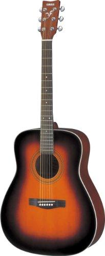 Yamaha F370 Guitarra Acústica Guitarra Folk 4/4 de madera, escala 634 mm, 25 pulgadas, 6 cuerdas metálicas, Color Marrón, Tobacco Brown Sunburst