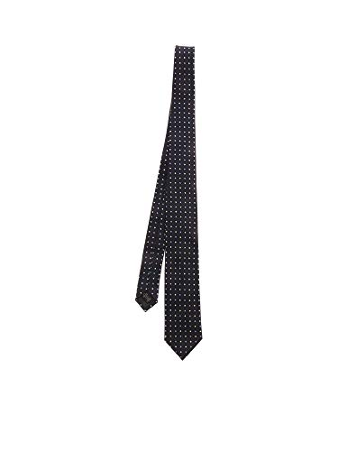 Z ZEGNA Luxury Fashion Herren Z7E501L7B Blau Seide Krawatte   Frühling Sommer 20
