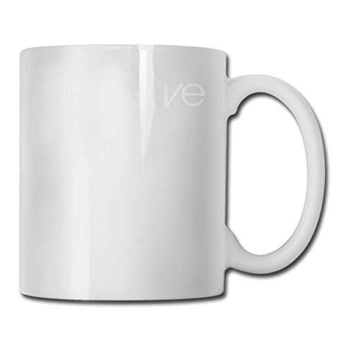 11oz (330ml) Comics Taza Taza de café y té Taza de Desayuno The Verve Top Logo Brit Pop Rock Richard Ashcroft Forth