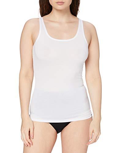 Skiny Damen 083930 Unterhemd, Weiß (White 0500), 36