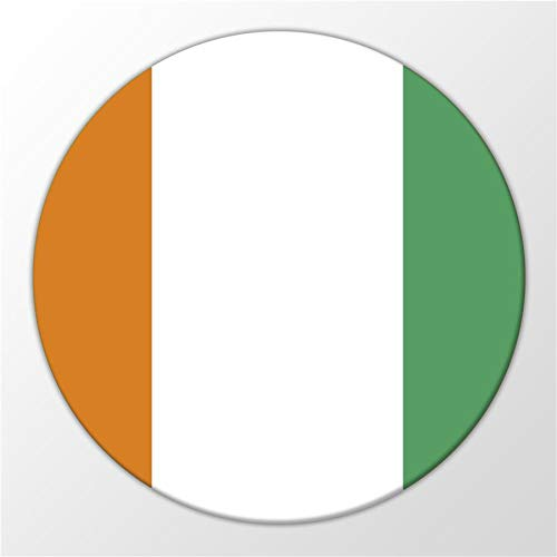 Kühlschrank Magnet Ivory Coast Elfenbeinküste Flagge Flag Magnettafel Whiteboard