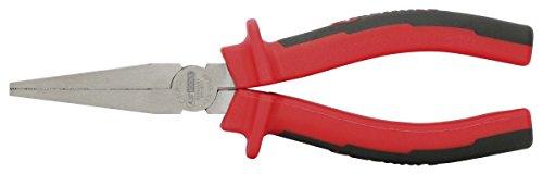 KS Tools Flachzange 165mm mit 2Komponenten-Handgriff, auf Hänger