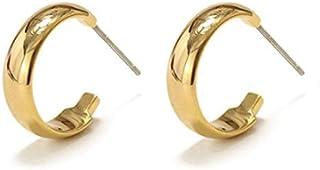 C Celi Wind Stud Örhängen 14K guldpläterad med S925 silvernål för kvinnor tjejer present Alla hjärtans dag födelsedag årsd...