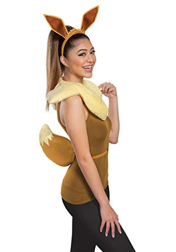 Disguise The Pokemon Adult Eevee Accessory Kit Standard