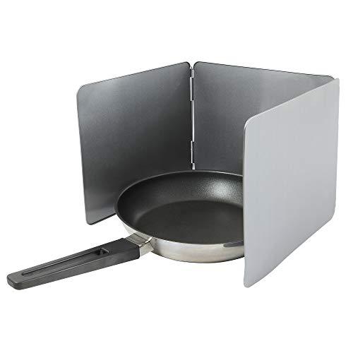 UPP Plaque anti-projections pliable I Protection pour la cuisine et plaque de cuisson I 3 plaques de 26 x 23 cm chacune I Revêtement anti-adhésif I Plaques de protection pour la cuisine