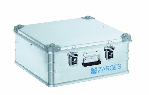 Zarges ZAR40849, 550mm x 550mm x 220mm, 40849K470 Aluminiumkoffer –Silber