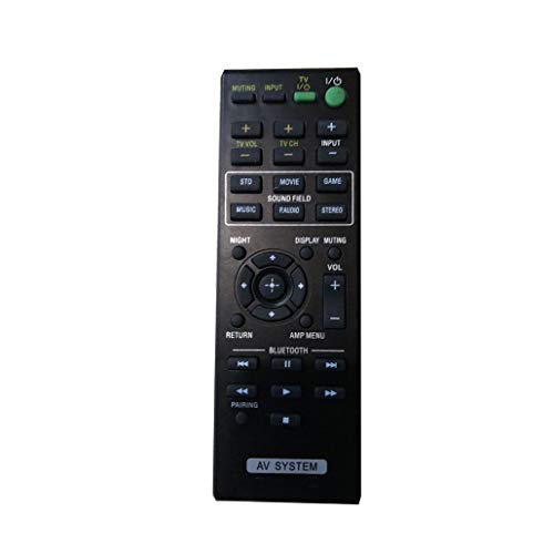 Read About 4EVER Replacment Remote Control Compatible for Sony HT-CT260 SA-CT260 SA-CT260H 2.1 Chann...