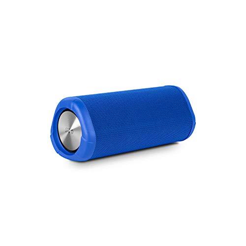 SPC Tube - Altavoz bluetooth waterproof IPX7 con manos libres y 10W de sonido – Color Azul