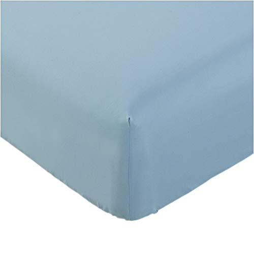 Mellanni Fitted Sheet Queen Blue-Hydrangea - Brushed Microfiber 1800...