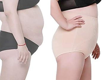 Max shape Women s High Waist Tummy Control Silm Panty Plus Size  Black 5XL