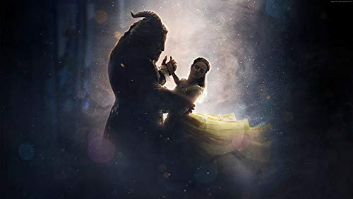 Best Movies Beauty And The Beast Emma Watson - Póster (12 x 18 pulgadas), multicolor