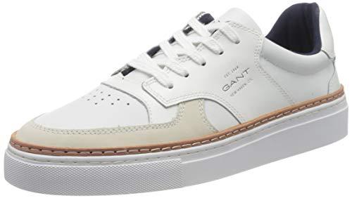 GANT Footwear Herren MC Julien Sneaker, Weiß (Bright White G290), 42 EU
