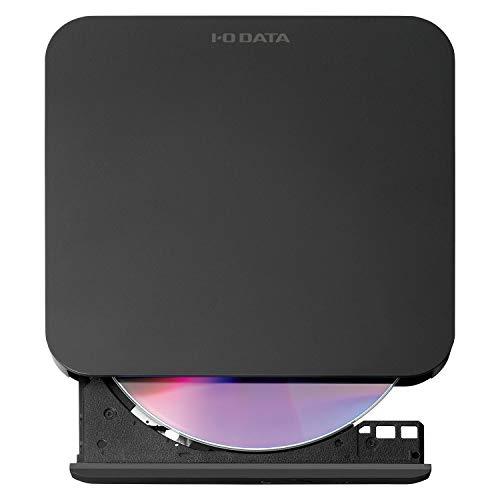 I-ODATAAndroidTV対応DVD再生外付けポータブルDVDドライブDVDプレーヤーDVRP-U8ATV
