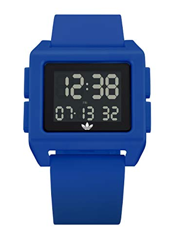 adidas Originals Watches Archive_SP1 Silicone Strap w/Polycarbonate Buckle, 24mm Width (24mm) - Team Royal Blue