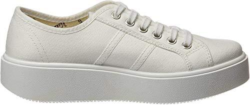victoria Lona buty sportowe dla dorosłych, uniseks, biały - Blanco 20 Weiß - 35 EU