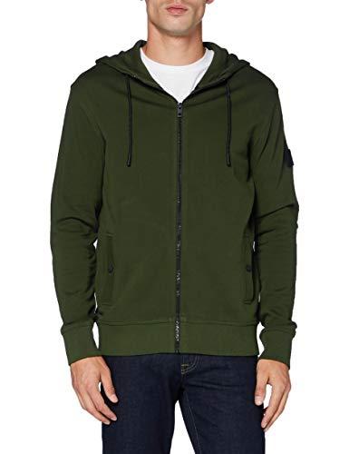 BOSS Mens Zounds 1 Hooded Sweatshirt, Open Green (346), S
