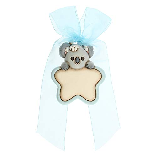 THUN - Tarjeta de nacimiento con forma de corazón personalizable con Koala