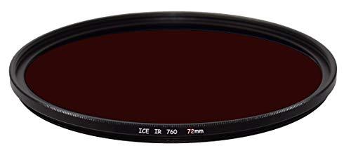 ICE IR 72mm 72 スリムフィルター 赤外線赤外線 赤外線 760HB 760nm 760 光学ガラス