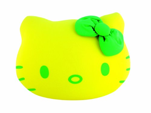 Leblon Delienne Hello Kitty HKYCS01611 Soft Cushion 16 cm Yellow