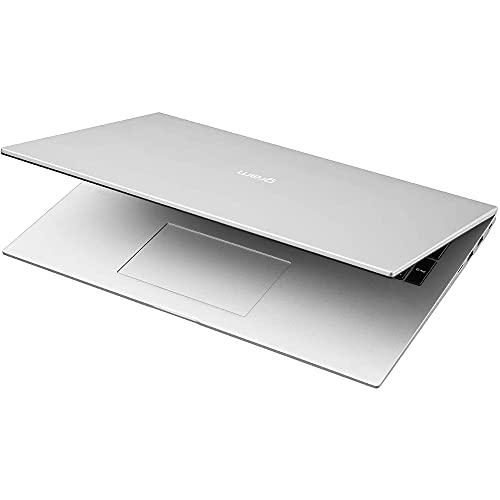 LG gram 17 Zoll Ultralight Notebook NEW 2021 Edition - 1,35 kg leichter Intel Core i7 Laptop (16GB LPDDR4, 512GB SSD, 19,5 h Akkulaufzeit, WQXGA IPS Display, Thunderbolt 4, Windows 10 Home) - Silber