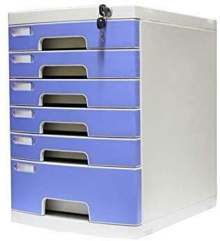 Archivadores Armarios de Archivos de Alta dureza de la aleación de Aluminio Material de deslizamientos Pista cajón Anti-Off Hebilla de plástico - 29.5x39.4x43cm Artículos de Oficina