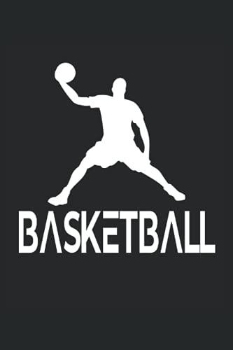 Basketball: Cuaderno de rayas cuaderno de escritura diario libro de tareas libro de cuentos (15,24 x 22,86 cm; ca. A5) 120 páginas. Para los amantes ... dunk slamdunk equipo de baloncesto.