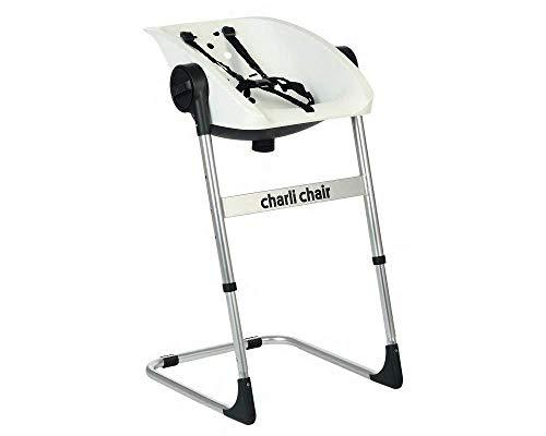 Imagen para Kiokids Charlichair 2 En 1 - Silla de baño, unisex, color negra