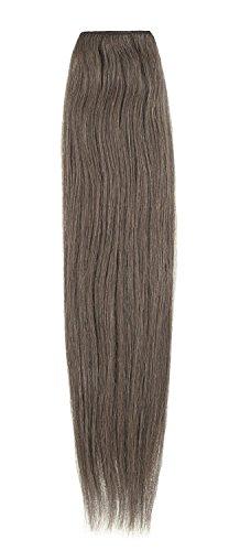 American Dream original de qualité 100% cheveux humains 50,8 cm soyeuse droite trame Couleur 10 – Medium Ash Brown