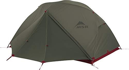 MSR アウトドア キャンプ 軽量 バックパッキング テント グランドシート(フットプリント)付 エリクサー2 (2人用) グリーン 【日本正規品】 37032