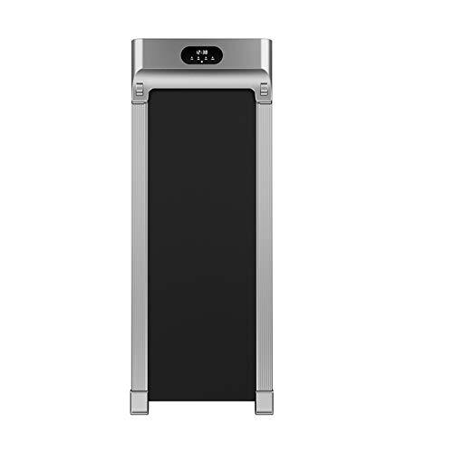 GYZ Portable Desktop Gehmaschine Haushaltstyp Kleininnen Büro Stille Folding Elektro-Laufband, Can Bär 220 Pfund (Color : Silver)