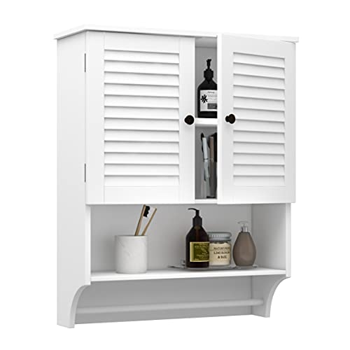 ChooChoo Bathroom Medicine Cabinet 23.6' L x8.9 W x29.3 H Wall Bathroom Cabinet, Double Doors...