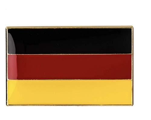 Patch Nation Groß Deutsches Deutschland Flagge Metall Button Badge Pin Brosche Anstecker
