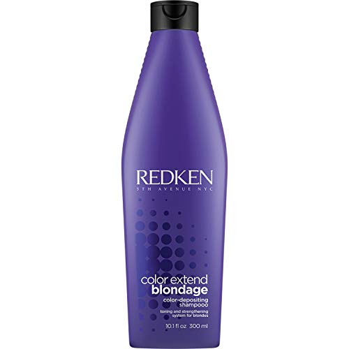 Redken Color Extend Blondage Color Depositing Purple Shampoo for Blonde Hair, 10.1 Ounce