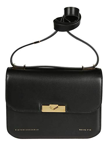 Victoria Beckham Luxury Fashion Donna VBA180BLACK Nero Borsa A Spalla | Primavera Estate 19