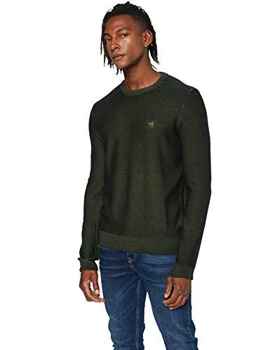 BOSS Mens Anitoba Pullover Sweater, Open Green (346), XXL